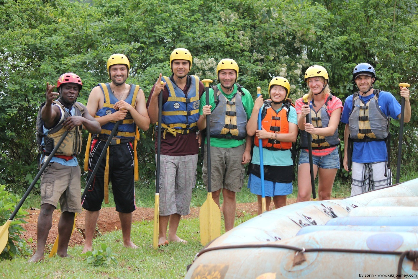 Water Rafting Nile