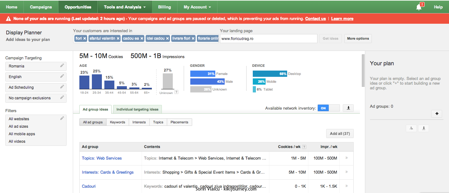 adwords planner