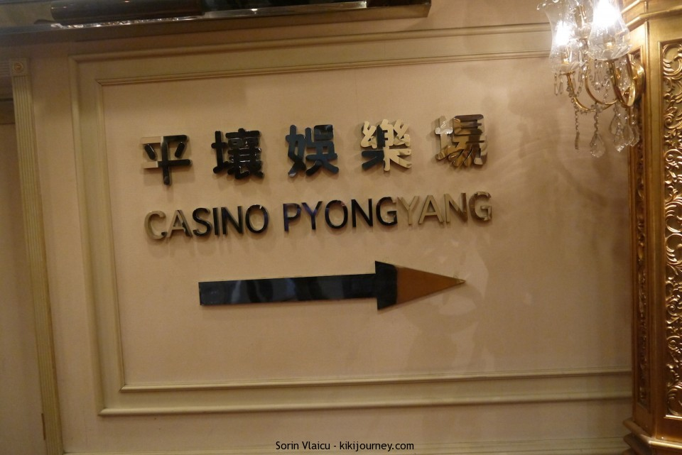 Yanggakdo Hotel Pyongyang  - the Casino
