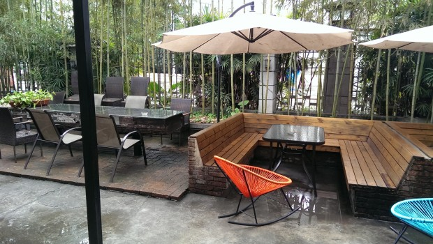Wada Hostel Guilin – the terrace