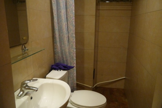 Han Tang Inn Hostel Xian – the bathroom