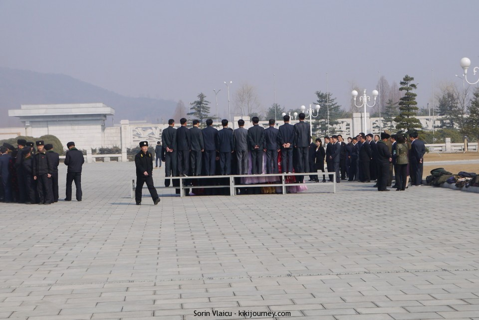 People at Sun Palace North Korea