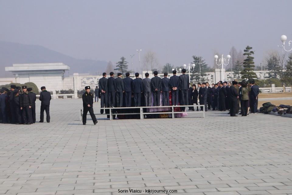 People at Sun Palace North Korea