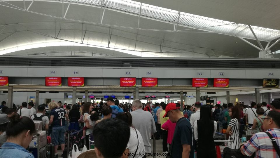 Vietjet Air Check in Counter