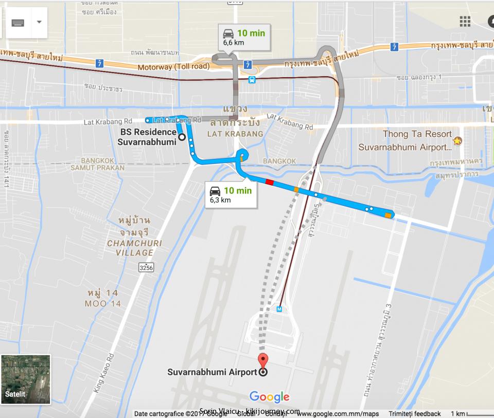 BS Residence Suvarnabhumi Locatio