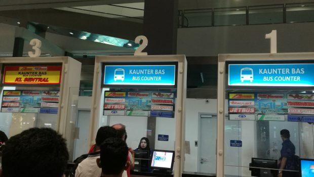 Bus Counter Kuala Lumpur