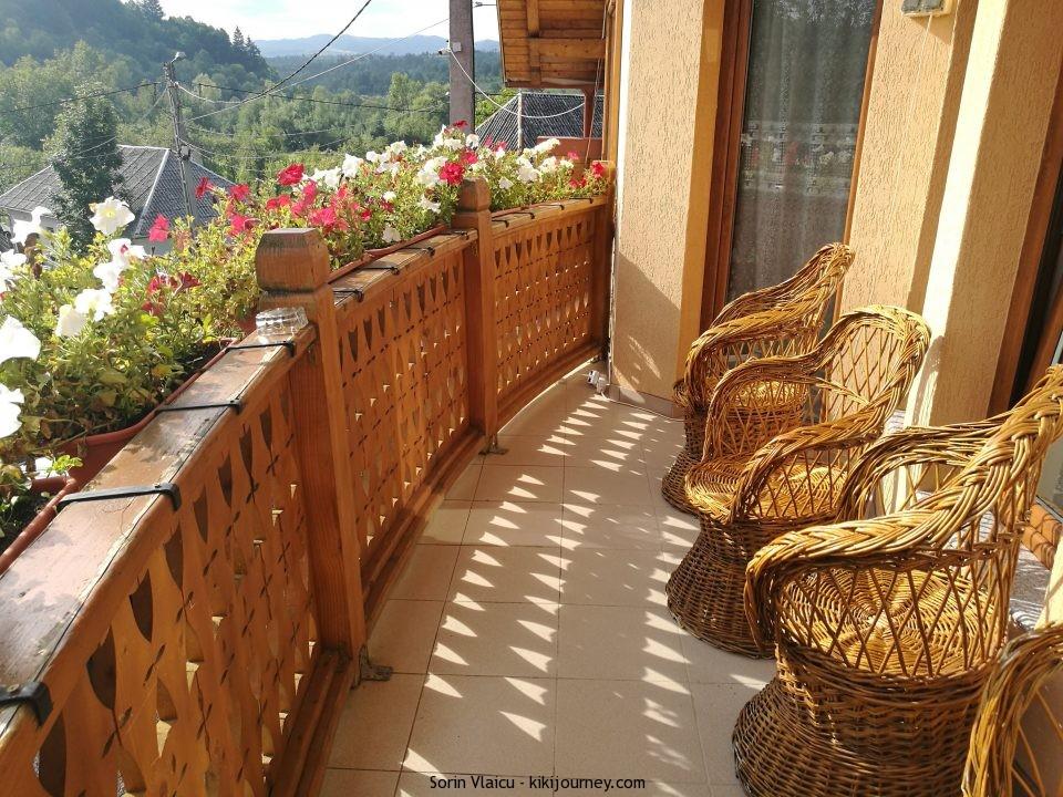Pensiunea Marioara Balcony