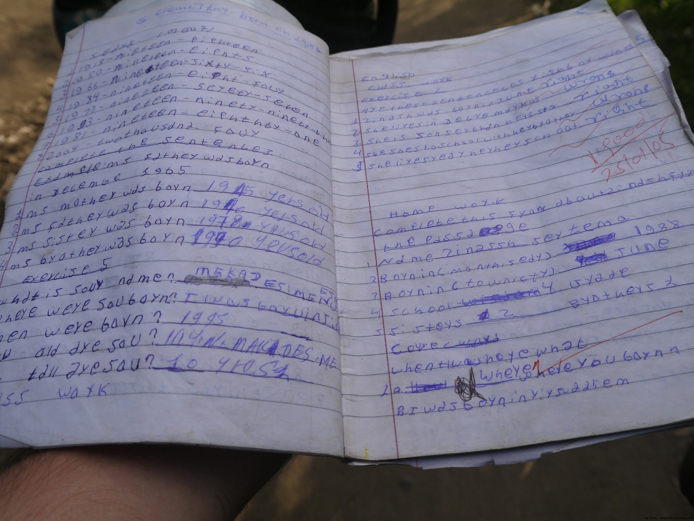 Student Notebook - Africa