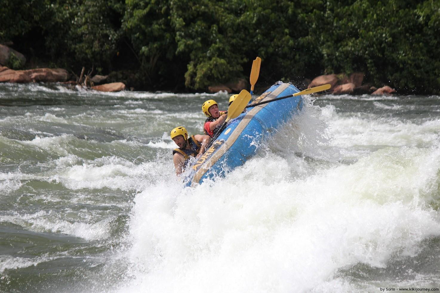 Water Rafting Nile