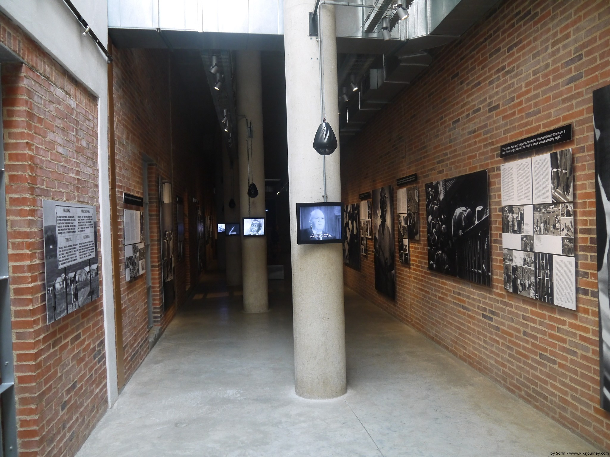 Apartheid Museum Inside