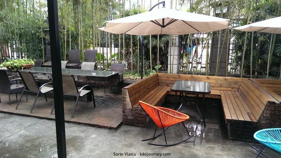 Wada Hostel Guilin - the terrace