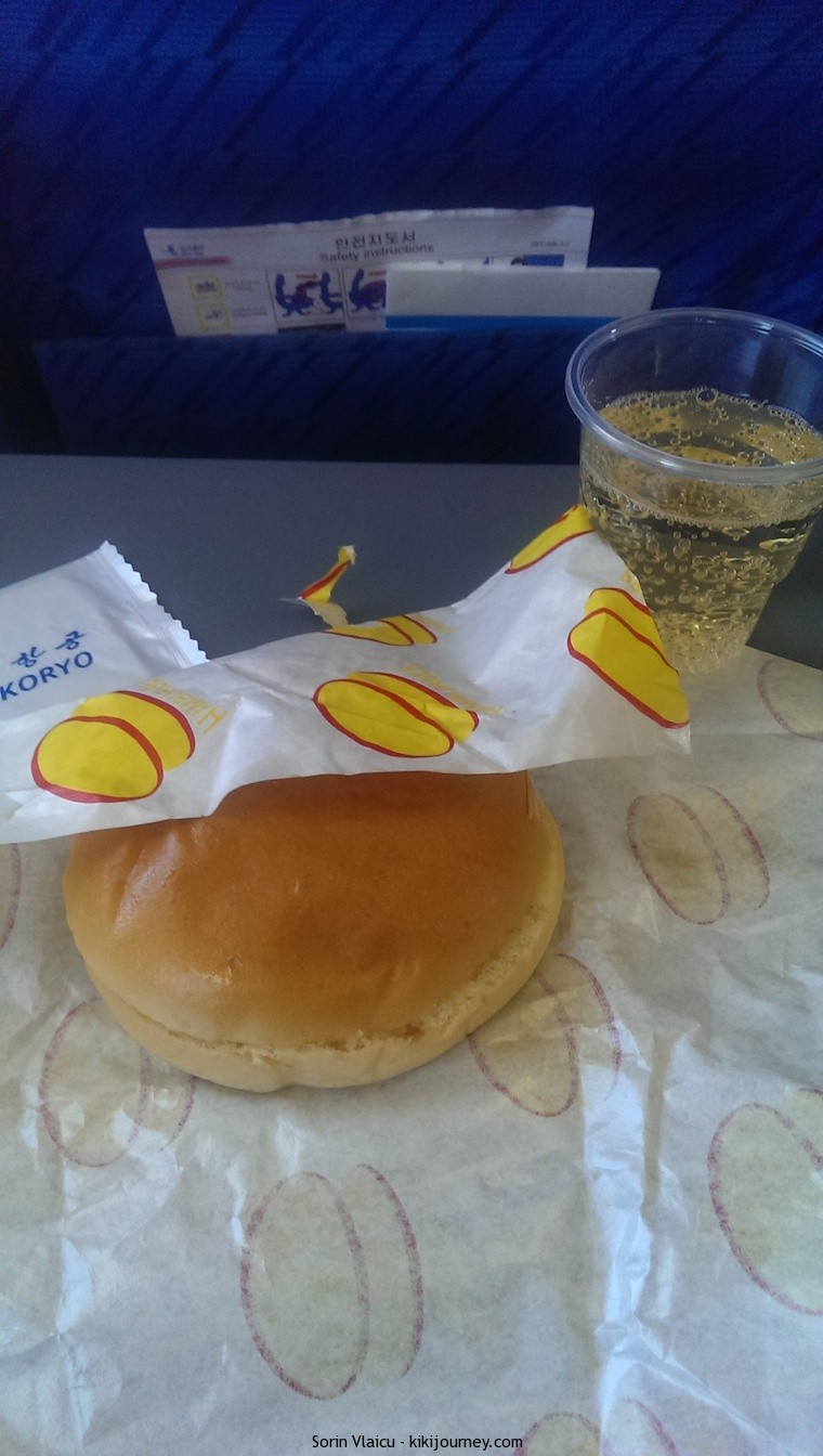Air Koryo - the meal