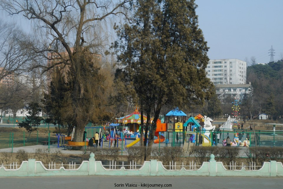 North Korea - children playground