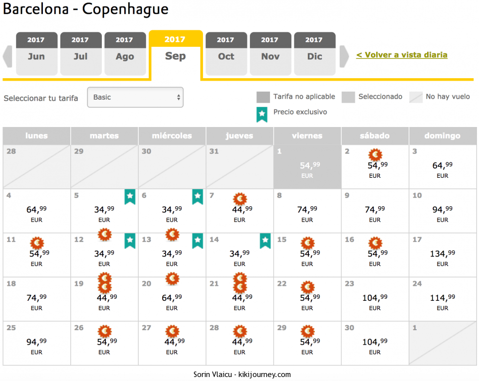 Barcelona to Copenhagen Flights