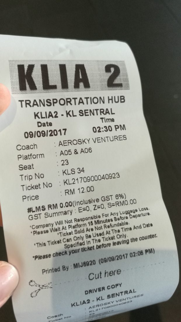 Bus-Ticket-Price-klia2-to-kuala-lumpur