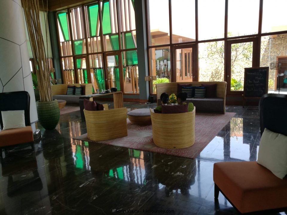 Reception Novotel Inle Lake