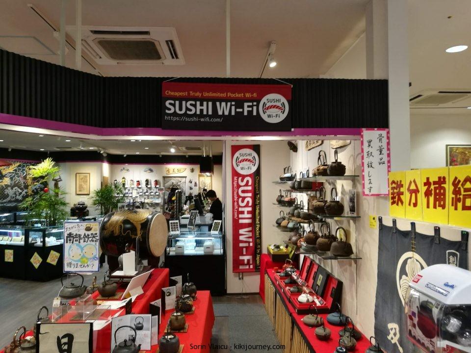 Sushi Wifi Pocket Japan