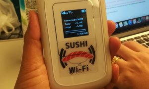 Wifi Pocket in Japan