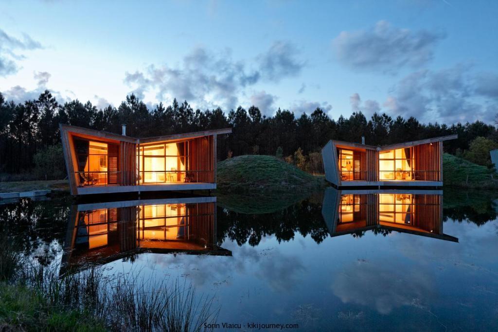 Hotel Relais du Silence Les Échasses Golf & Surf Eco Lodge