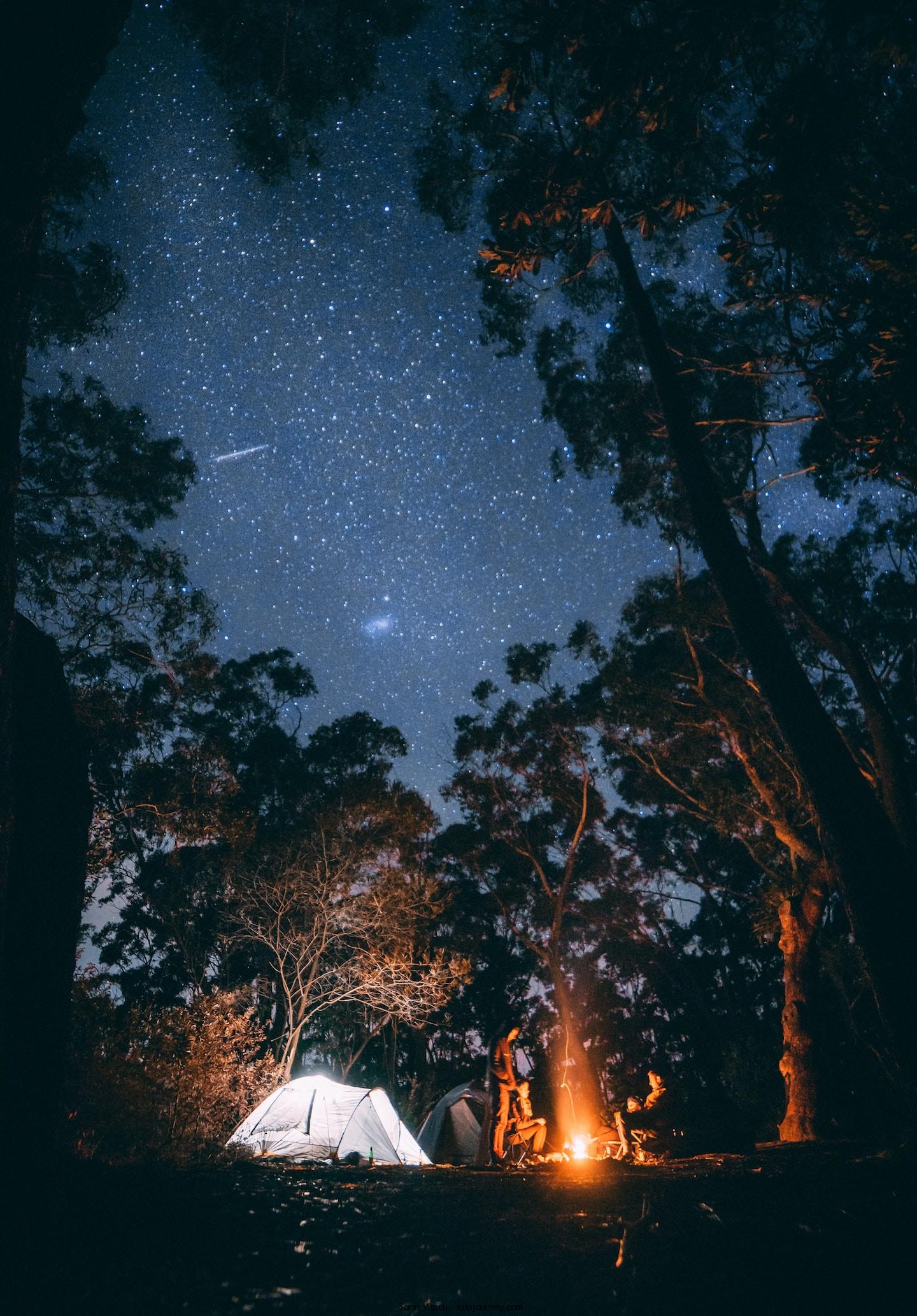Winter Camping Australia