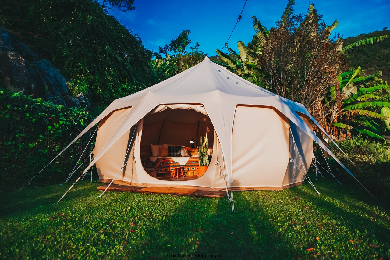 camping gear tent